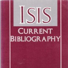 Coleccionismo de Revistas y Periódicos: ISIS - CURRENT BIBLIOGRAPHY 1990 - A JOURNAL OF THE HISTORY OF SCIENCE SOCIETY. Lote 175024767