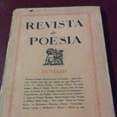 Coleccionismo de Revistas y Periódicos: REVISTA DE POESIA 1925. Lote 175077010