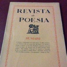 Coleccionismo de Revistas y Periódicos: REVISTA POESÍA 1925. Lote 175077043