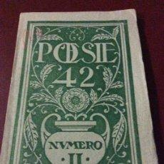 Coleccionismo de Revistas y Periódicos: POESÍE 42 NÚMERO 2. Lote 175077074