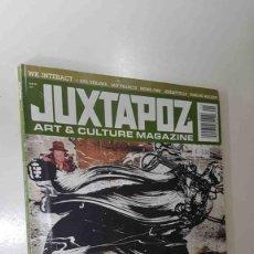 Coleccionismo de Revistas y Periódicos: REVISTA: JUXTAPOZ JANUARY 2009, ART AND CULTURE MAGAZINE - WK INTERACT + AYA UEKAWA, IAN FRANCIS.... Lote 175107352