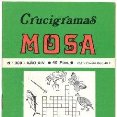 Coleccionismo de Revistas y Periódicos: CRUCIGRAMAS MOSA - Nº 308 - 1978. Lote 175136194