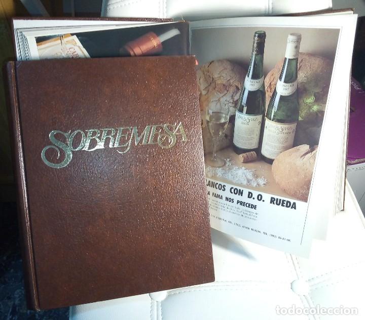 REVISTA SOBREMESA ( 2 TOMOS)AÑO 1987 Y AÑO 1988 (Coleccionismo - Revistas y Periódicos Modernos (a partir de 1.940) - Otros)