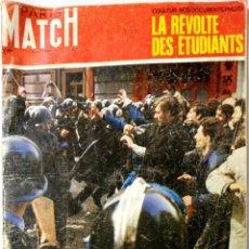 Coleccionismo de Revistas y Periódicos: PARIS MATCH. REVISTA HISTORICA. MAYO 1968. SOBRE LOS SUCESOS EN PARIS, MAYO DEL 68. VER FOTOS.. Lote 175192867