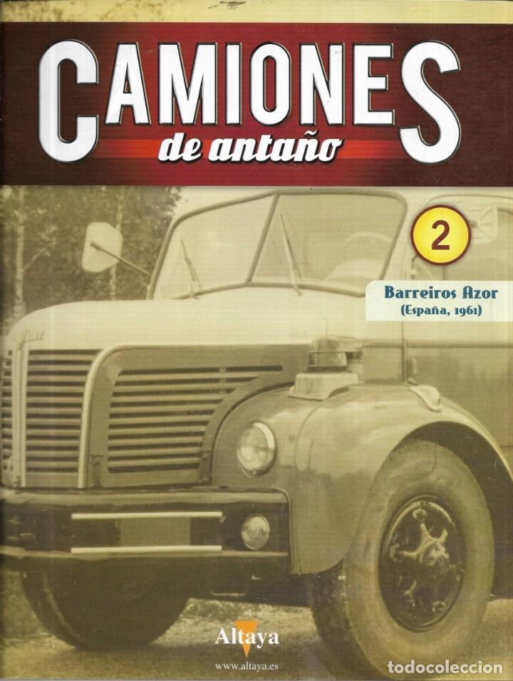 == Q01 - FASCICULO CAMIONES DE ANTAÑO Nº 2 - BARREIROS AZOR (Coleccionismo - Revistas y Periódicos Modernos (a partir de 1.940) - Otros)