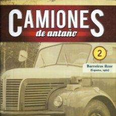 Coleccionismo de Revistas y Periódicos: == Q01 - FASCICULO CAMIONES DE ANTAÑO Nº 2 - BARREIROS AZOR. Lote 175194144