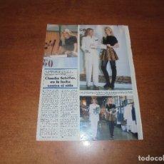 Coleccionismo de Revistas y Periódicos: CLIPPING 1994: CLAUDIA SCHIFFER. Lote 175237627