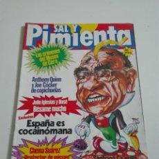 Coleccionismo de Revistas y Periódicos: SAL Y PIMIENTA N°114. DICIEMBRE 1981. Lote 175318390