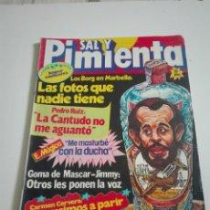 Coleccionismo de Revistas y Periódicos: SAL Y PIMIENTA N°45. AGOSTO 1980.. Lote 175318648