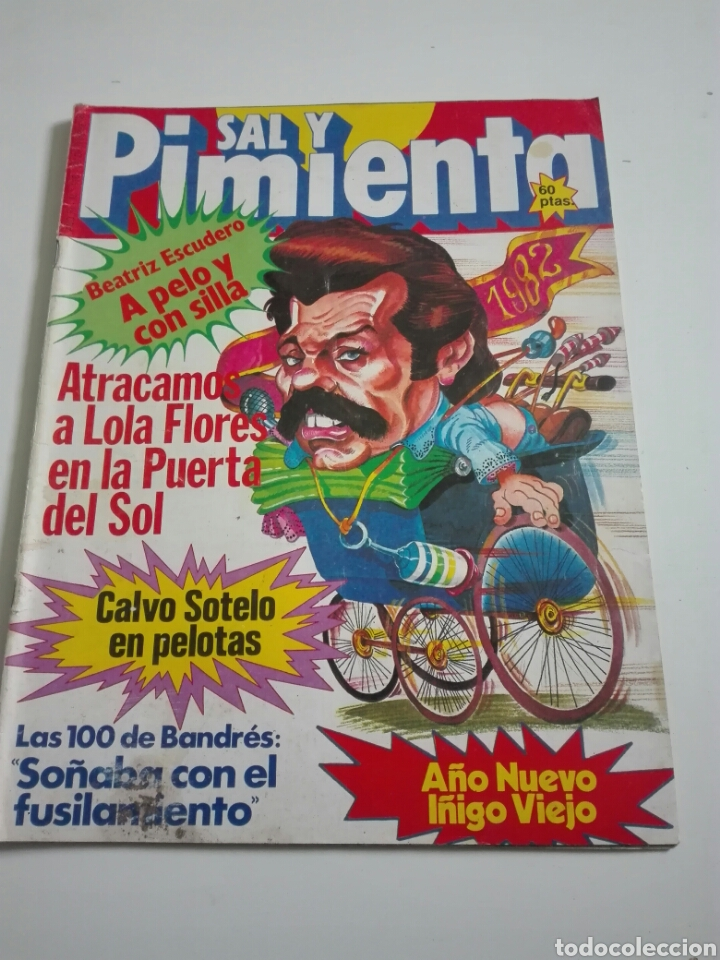 SAL Y PIMIENTA N°118. DICIEMBRE 1981. (Coleccionismo - Revistas y Periódicos Modernos (a partir de 1.940) - Otros)