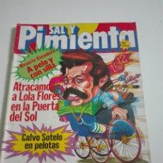 Coleccionismo de Revistas y Periódicos: SAL Y PIMIENTA N°118. DICIEMBRE 1981.. Lote 175318918