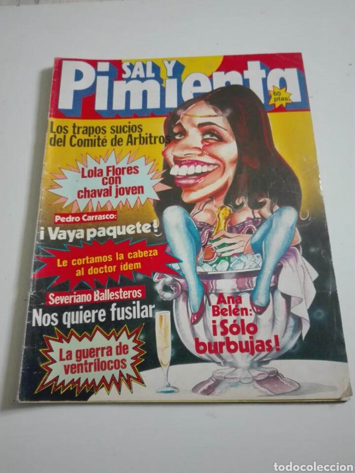 DAL Y PIMIENTA N°116. DICIEMBRE 1981. (Coleccionismo - Revistas y Periódicos Modernos (a partir de 1.940) - Otros)