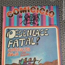 Coleccionismo de Revistas y Periódicos: REVISTA COMICICLO NÚMERO 4. Lote 175341724
