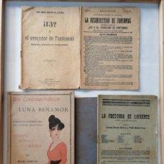 Coleccionismo de Revistas y Periódicos: OBRAS DE TEATRO MUY ANTIGUAS.. Lote 175363608