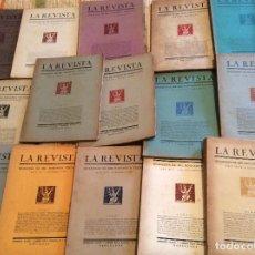 Coleccionismo de Revistas y Periódicos: LA REVISTA QUADERNS DE MIL NOUCENTS VINO I VUIT.16 REVISTAS. Lote 175410275