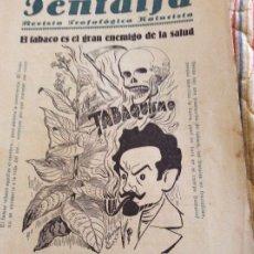 Coleccionismo de Revistas y Periódicos: PENTALFA 1931 TABAQUISMO. Lote 175416797