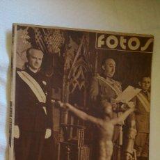 Collezionismo di Riviste e Giornali: PERIODICO FOTOS ( FALANGISTA). Lote 175529664