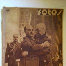 Collezionismo di Riviste e Giornali: PERIDICO FOTOS ( FALANGISTA). Lote 175530030