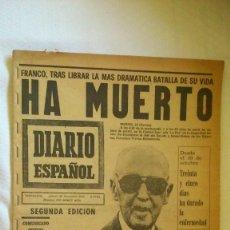 Collezionismo di Riviste e Giornali: PERIODICO DIARIO ESPAÑOL AÑO 1975. Lote 175531477