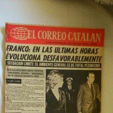 Collezionismo di Riviste e Giornali: PERIODICO EL CORREO CATALAN AÑO 1975. Lote 175531758
