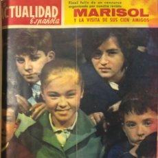 Coleccionismo de Revistas y Periódicos: LA ACTUALIDAD ESPAÑOLA. TOMO II. AÑO 1962. DEL Nº 535 AL 547. MEDIDAS APROX. 36 X 26.6 CM. VER FOTOS. Lote 175572382