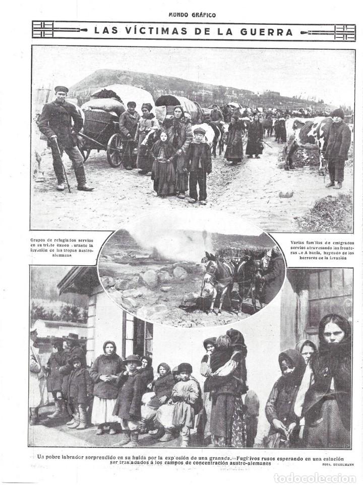 1916 hoja revista primera guerra mundial refugi - Comprar Revistas ...