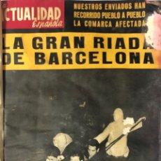 Coleccionismo de Revistas y Periódicos: LA ACTUALIDAD ESPAÑOLA. TOMO IV. AÑO 1962. DEL Nº 561 AL 567. MEDIDAS APROX. 36 X 26.6 CM. VER FOTOS. Lote 175575192