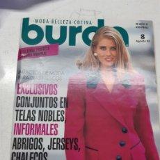 Coleccionismo de Revistas y Periódicos: BURDA AGOSTO 1992. Lote 175589684