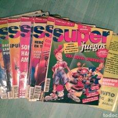 Coleccionismo de Revistas y Periódicos: REVISTAS SUPERJUEGOS. Lote 175599885
