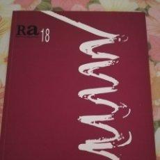 Coleccionismo de Revistas y Periódicos: RA 18 (REVISTA DE ARQUITECTURA) 2016. Lote 175680918