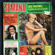 Coleccionismo de Revistas y Periódicos: REVISTA SEMANA N° 1953 JUNIO 1973. Lote 175696965