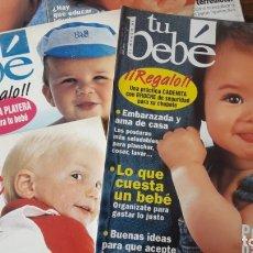 Coleccionismo de Revistas y Periódicos: LOTE 5 REVISTAS 'TU BEBÉ'. Lote 175732307