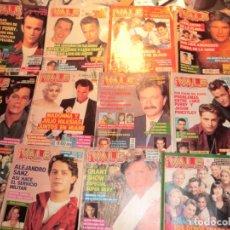 Coleccionismo de Revistas y Periódicos: LOTE DE REVISTAS VALE CON FAMOSOS ACTORES.. Lote 175765737