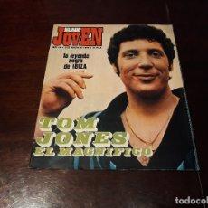 Coleccionismo de Revistas y Periódicos: REVISTA MUNDO JOVEN Nº 45 - TOM JONES EL MAGNIFICO -POP IBIZA - YOKO ONO - POSTER DE IÑIGO. Lote 175773773