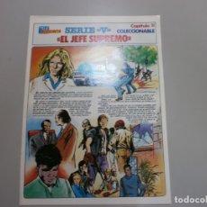 Coleccionismo de Revistas y Periódicos: TELEINDISCRETA TELE INDISCRETA SERIE V LOS VISITANTES CAPITULO 11. Lote 175786888