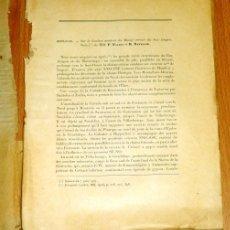 Coleccionismo de Revistas y Periódicos: SUR LA BORDURE NORD-EST DU MASSIF CRÉTACÉ DU BAS-ARAGON (SEPARATA) / P. FALLOT ET R. BATALLER. Lote 175830243