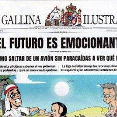Coleccionismo de Revistas y Periódicos: LA GALLINA ILUSTRADA, Nº 5, 2019. PERIÓDICO SATÍRICO CATORCENAL DE INFORMACIÓN NACIONAL. . Lote 175830694
