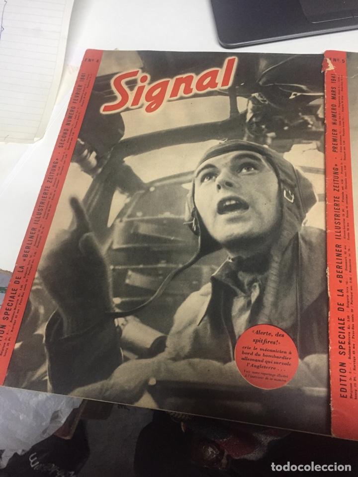 Coleccionismo de Revistas y Periódicos: Revistas signal antiguas - Foto 3 - 175834487