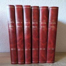 Coleccionismo de Revistas y Periódicos: COLECCIÓN DE PUNTO Y HORA N.419 AL 500 REVISTA VASCA REVISTA VASCA. Lote 175839530