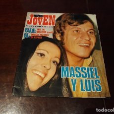 Coleccionismo de Revistas y Periódicos: REVISTA MUNDO JOVEN Nº 56 - MASSIEL Y LUIS - POSTER DE DAVID ALEXANDER WINTER. Lote 175842370