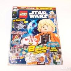 Colecionismo de Revistas e Jornais: REVISTA LEGO STAR WARS. Nº 22. ABRIL. 2017. 2 CÓMIC GALÁCTICOS. 1 POSTERS. 34 PÁGINAS.. Lote 175976553