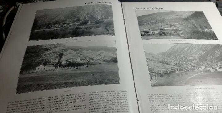 Coleccionismo de Revistas y Periódicos: ILUSTRACIÓ CATALANA Nº617 1915 LES POBLACIONS DEVALLS D'ANDORRA S. COLOMA ORDINO MOSQUERA ENCAMP - Foto 2 - 174271662