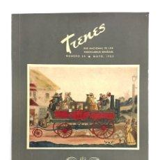 Coleccionismo de Revistas y Periódicos: REVISTA TRENES RENFE Nº 54 1953 / DEDICADO AL XXXº CONGRESO INTERNACIONAL DE TRANSPORTES PÚBLICOS. Lote 176156525