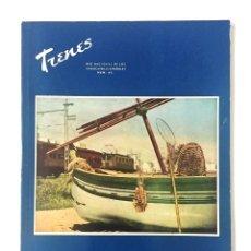 Coleccionismo de Revistas y Periódicos: REVISTA TRENES RENFE Nº 63 1956 / VACACIONES Y ARTE JUNTO AL MAR / FERROCARRILES. Lote 176187968