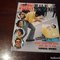 Coleccionismo de Revistas y Periódicos: REVISTA MUNDO JOVEN Nº 97 - KARINA , MASSIEL ,JULIO IGLESIAS , MIGUEL RIOS EN JAPON CON POSTER . Lote 176205177