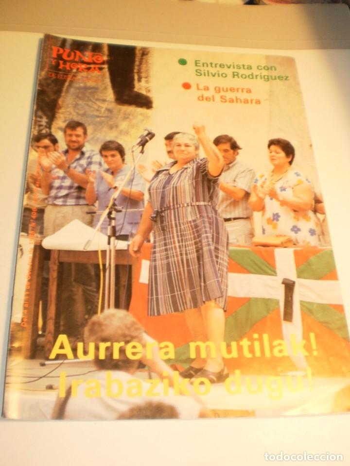 PUNTO Y HORA DE EUSKAL HERRIA Nº 406 4 AL 11-10-1985 (MUY BUEN ESTADO) (Coleccionismo - Revistas y Periódicos Modernos (a partir de 1.940) - Otros)