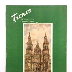 Coleccionismo de Revistas y Periódicos: REVISTA TRENES RENFE Nº 52 OTOÑO 1952 / FERROCARRILES. Lote 176257734