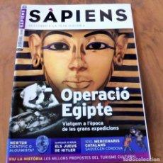 Coleccionismo de Revistas y Periódicos: REVISTA SÀPIENS Nº 40 - FEBRER 2006 - OPERACIÓ EGIPTE. Lote 176314387