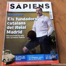 Coleccionismo de Revistas y Periódicos: REVISTA SÀPIENS Nº 43 - MAIG 2006 - ELS FUNDADORS CATALANS DEL REIAL MADRID. Lote 176314473