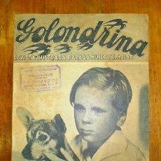 Coleccionismo de Revistas y Periódicos: GOLONDRINA : REVISTA ILUSTRADA PARA LA MUJER Y EL HOGAR. AÑO I, NÚM. 2, 1936 - JACKIE COOPER. Lote 176326672